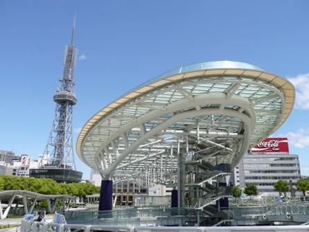 名古屋市栄の風景