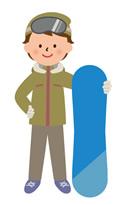 自分の趣味だったスノーボードを扱う販売業に転職